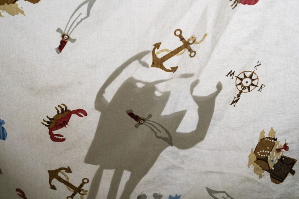 Shadow Puppet Show with Sheets!